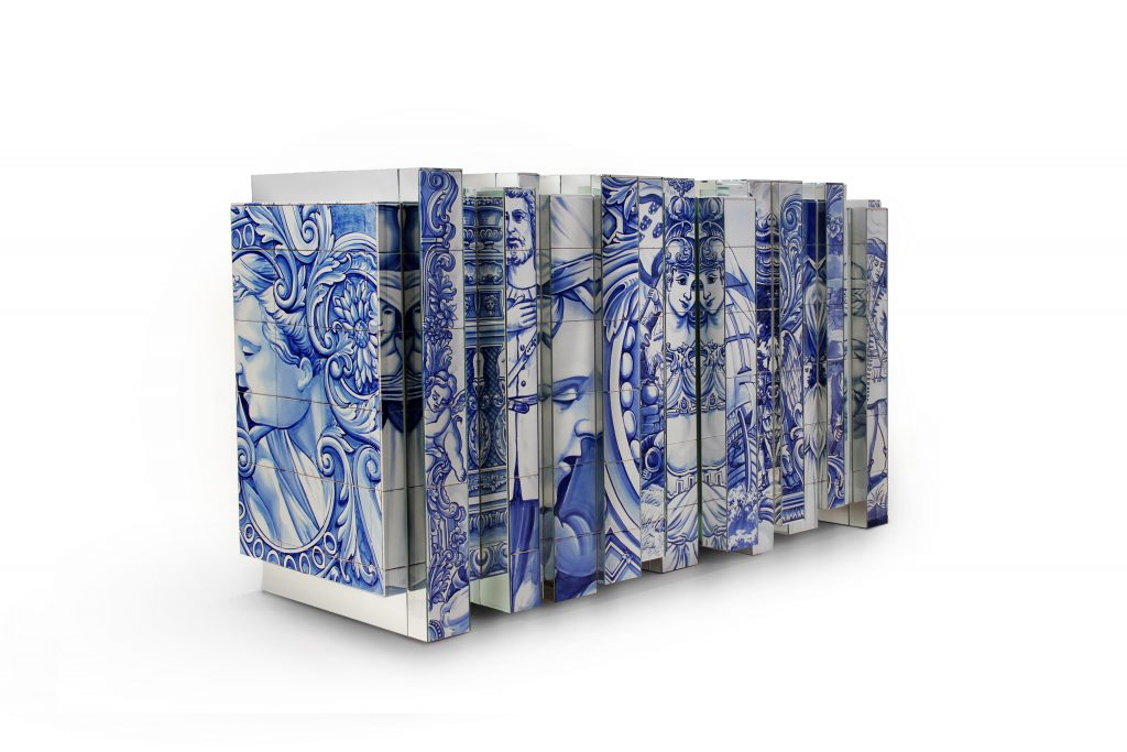 Filigree and Azulejos Heritage at Homo Faber heritage sideboard 02 1 1024x683