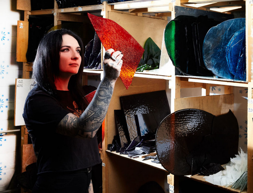 master artisans Discover 12 Singular Master Artisans from Europe Homo Faber Craftsmanship Venice Singular Talents Artisans Izabela Kovalevskaja STAINED GLASS Color