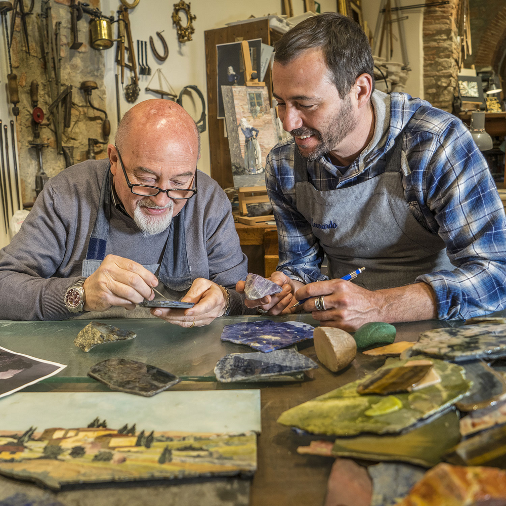 master artisans Discover 12 Singular Master Artisans from Europe Homo Faber Craftsmanship Venice Singular Talents Artisans Leonardo Scarpelli HARD STONE MOSAIC ITALY