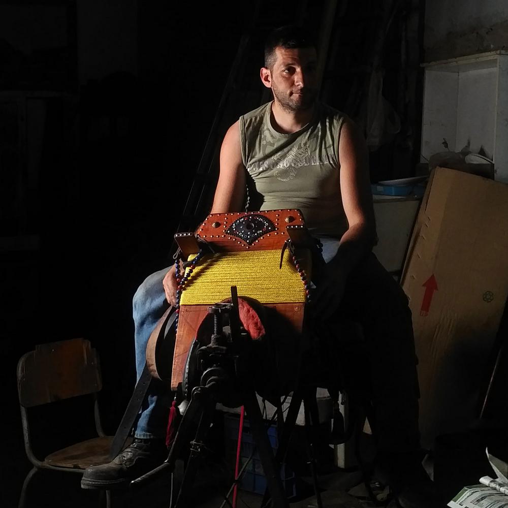 master artisans Discover 12 Singular Master Artisans from Europe Homo Faber Craftsmanship Venice Singular Talents Konstantinos Vogiatzakis SADDLES leather Greece
