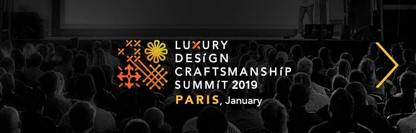 Master Artisans Discover 12 Singular Master Artisans from Europe Luxury Design Craftsmanship Summit Paris 2019 January