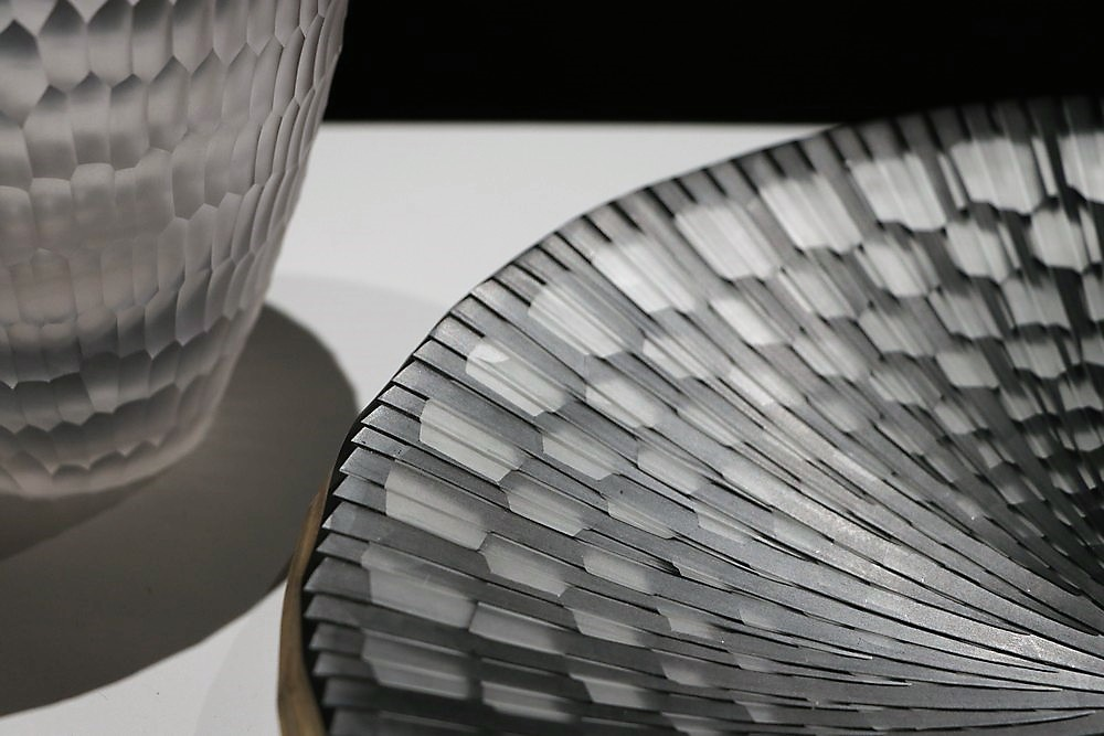 european craftsmanship The Best of European Craftsmanship at Homo Faber The Best of Europe Craftsmanship at Homo Faber Mosaic Plate Glass fusion vessel Gabriel Kustner Germany