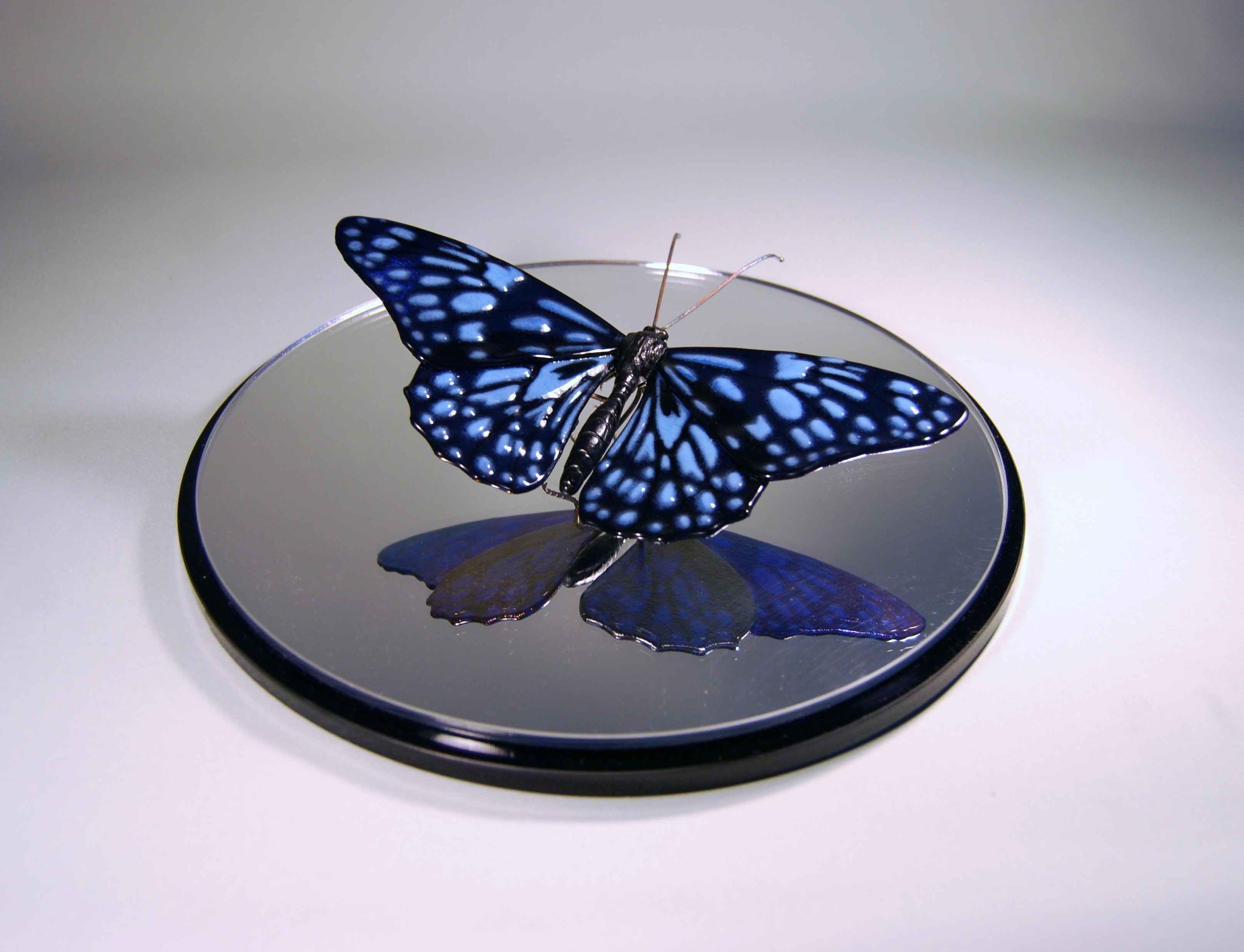 The Best of Glass Sculpture and Fusing Art: Laura Hart glass sculpture The Best of Glass Sculpture and Fusing Art: Laura Hart Blue Tiger