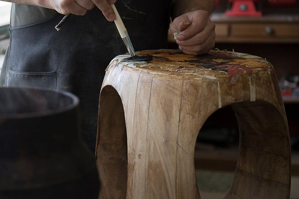 Culture Creative Hub For Thinkers and Makers Stool marquetry art traditional technique  creative hub Culture, A Creative Hub for Thinkers and Makers Culture Creative Hub For Thinkers and Makers Stool