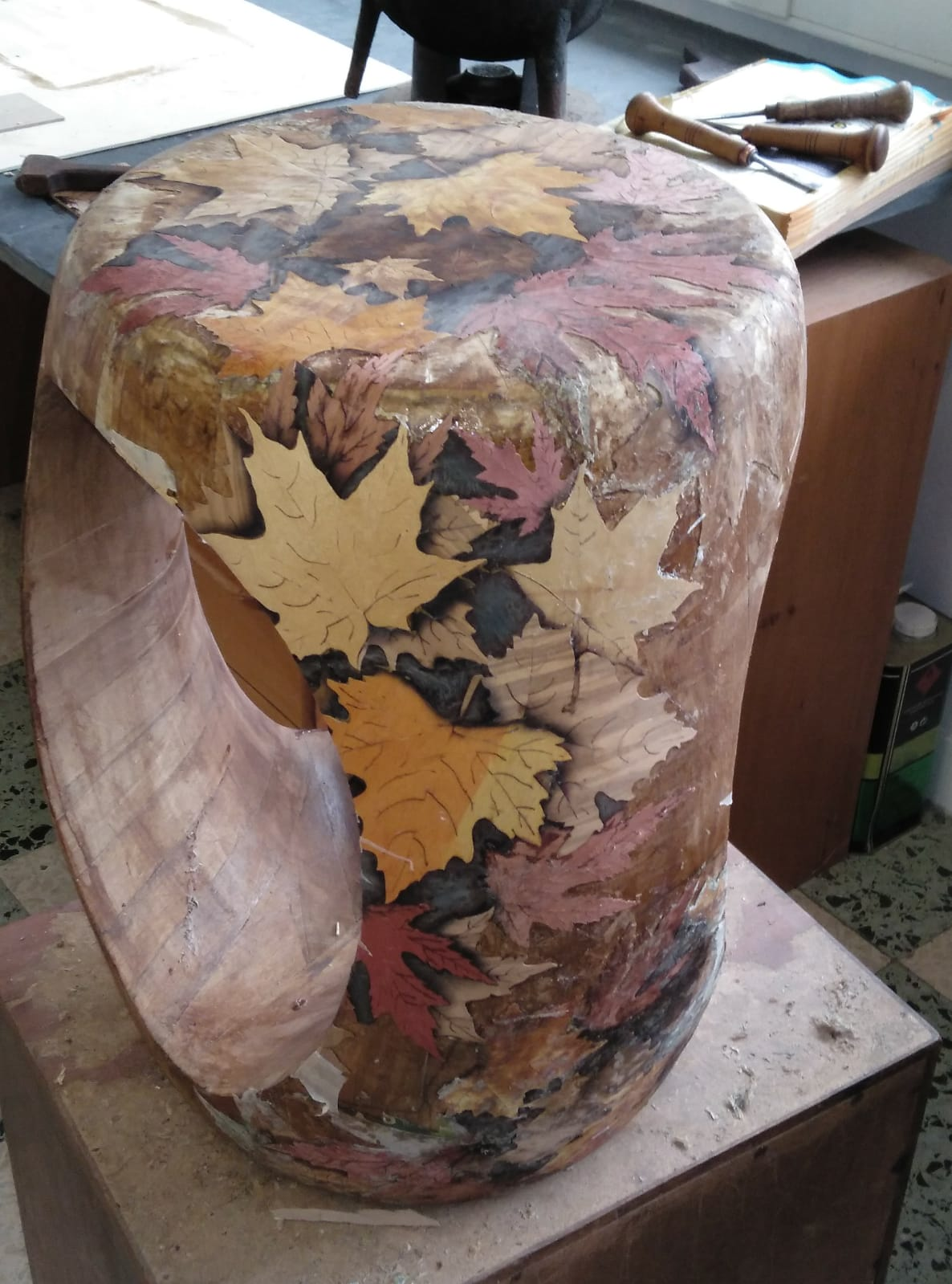 The Pioneering Handcrafted Creations at CULTURE Creative Hub Murano Erosion stool flower pioneering handcrafted creations The Pioneering Handcrafted Creations at CULTURE Creative Hub The Pioneering Handcrafted Creations at CULTURE Creative Hub Murano Erosion stool flower