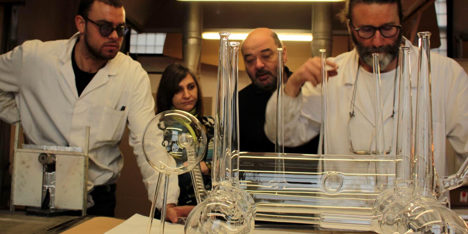 The Best of Glass workers: Massimo Lunardon glass work The Best of Glass work and Lampworking art: Massimo Lunardon studioCollaboration
