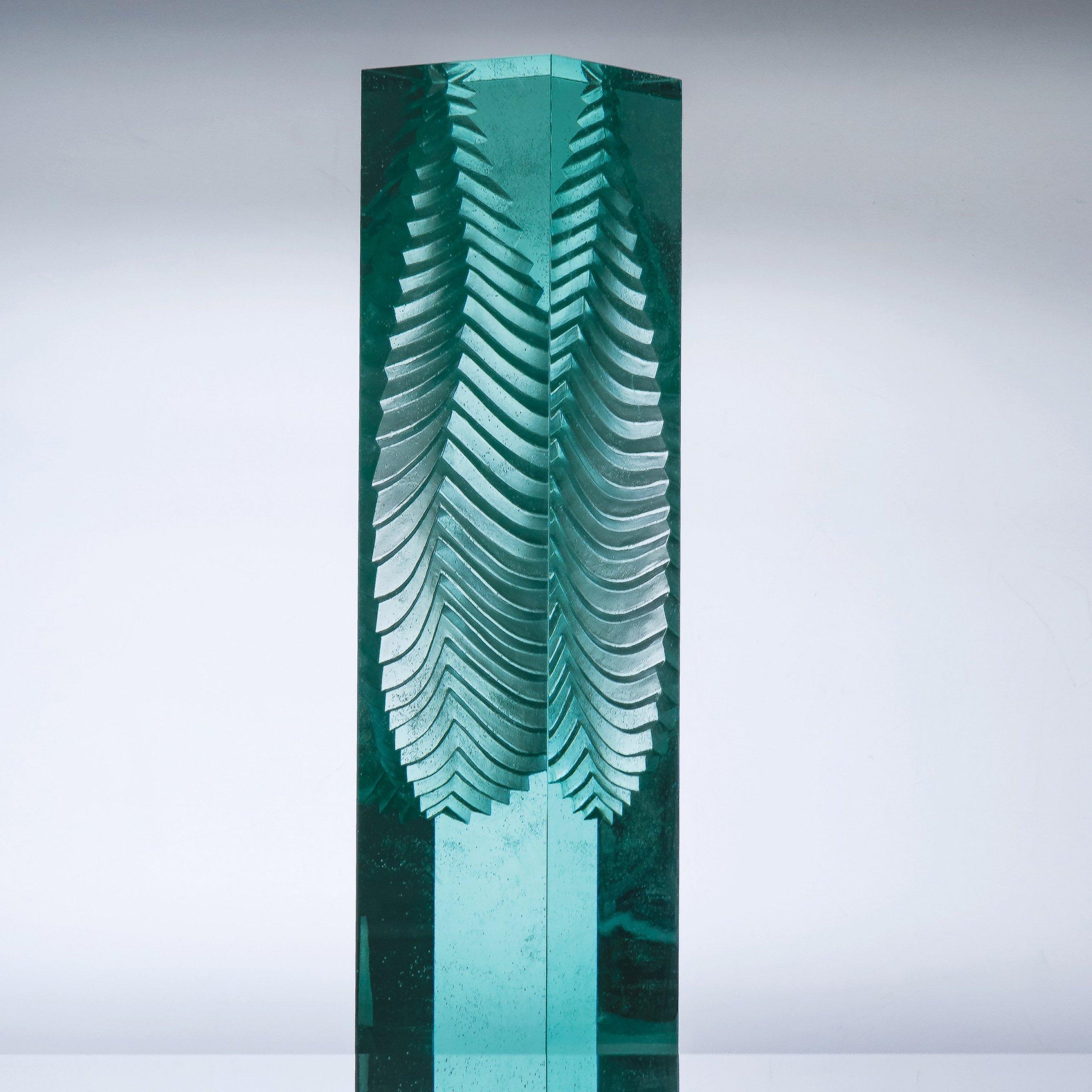 The Best of Glass Art: Jaroslav Prošek glass sculpture The Best of Glass Sculpture Art: Jaroslav Prošek 25 leaf 50dd7