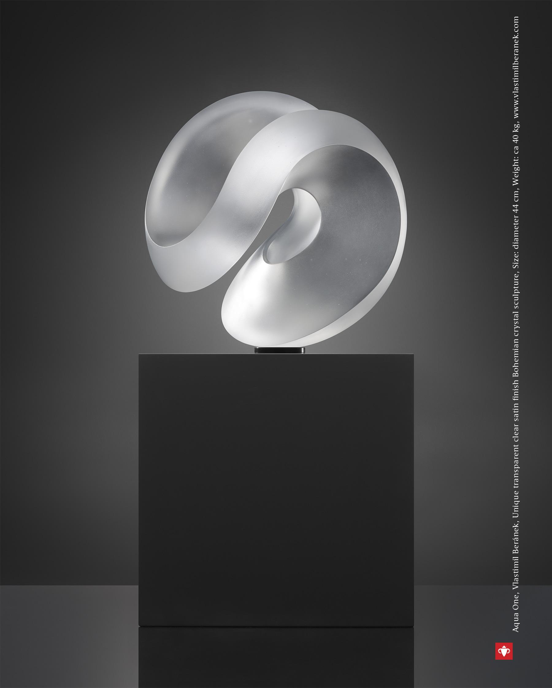 The Best of Glass Sculpture Art: Vlastimil Beránek glass sculpture The Best of Glass Sculpture Art: Vlastimil Beránek Aqua One Vlastimil Beranek