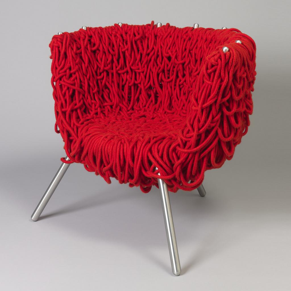 The Best of Collectible Design: Campana Brothers - Vermelha Chair campana brothers The Best of Collectible Design: Campana Brothers Campana Brothers Vermelha Chair