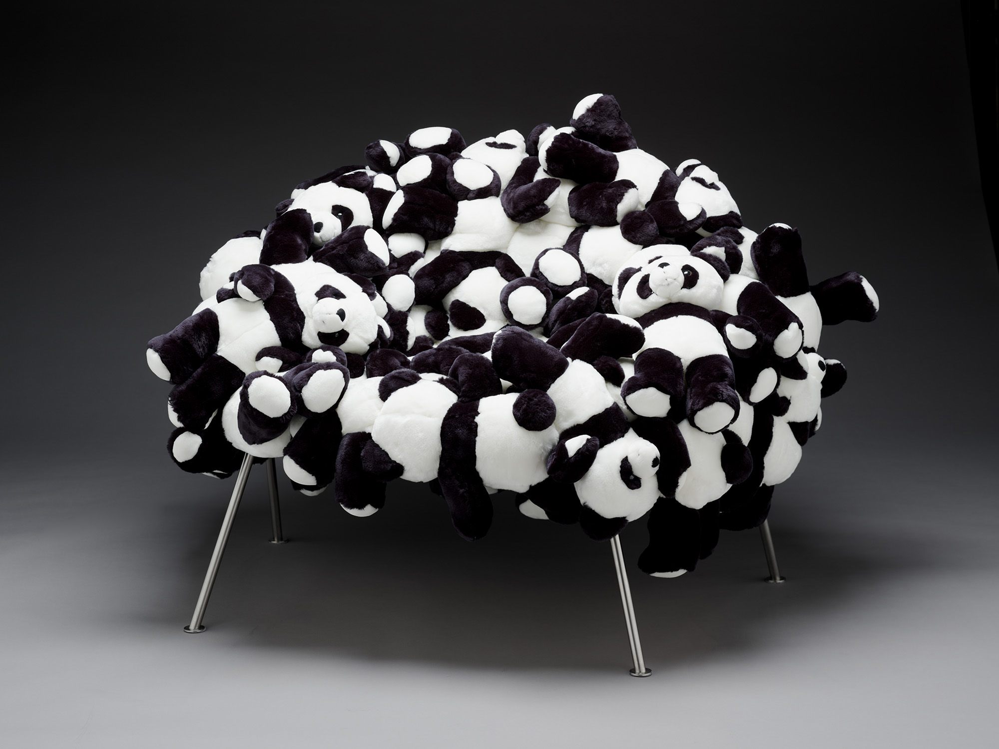 The Best of Collectible Design: Campana Brothers campana brothers The Best of Collectible Design: Campana Brothers Campana Panda Banquete Chair