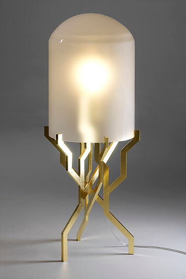 Collectible Designs at The Salon Art+Design NY 2018 - Kranen Gille - Plant Lamp priveekollektie New Priveekollektie's Collectible Designs at The Salon Art+Design NY Collectible Designs at The Salon ArtDesign NY 2018 Kranen Gille Plant Lamp