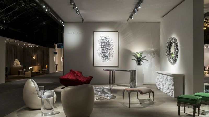 David Gill Gallery at The Salon Art+ Desing 2108 david gill gallery New David Gill Gallery's Collectible Designs The Salon Art+Design NY David Gill Gallery at Salon Art Design 2018