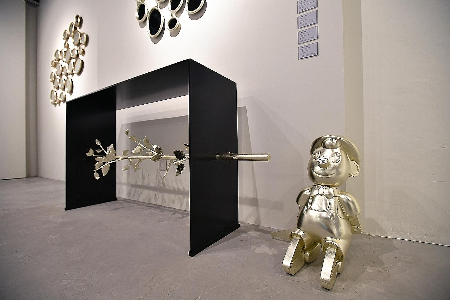 The Best of Collectible Design: Hubert Le Gall - Pinocchio Console hubert le gall The Best of Collectible Design: Hubert Le Gall Hubert Le Gall Pinocchio Console