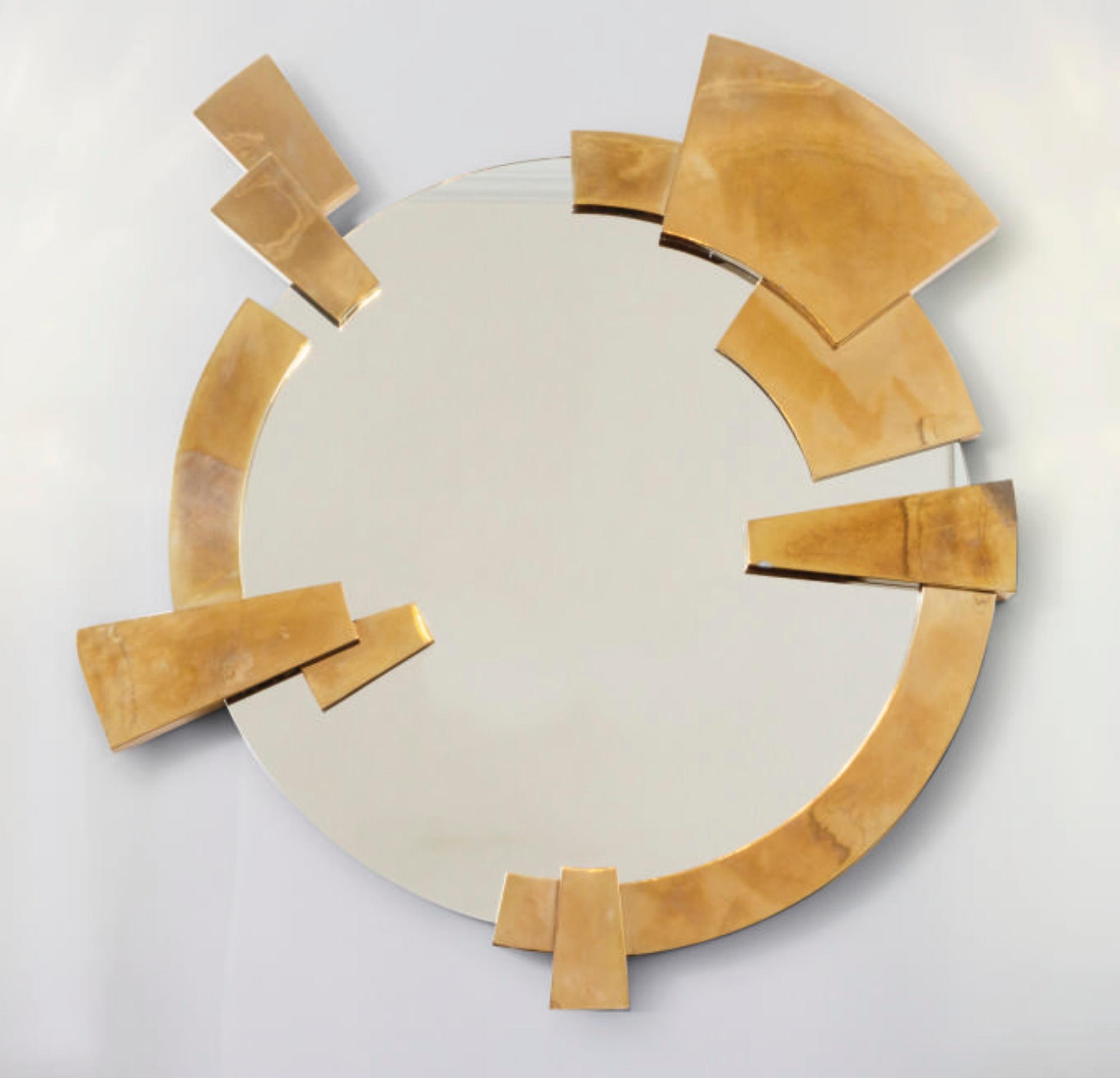 The best golden nickedpieces from Garrido's brothers garrido gallery New Garrido Gallery's Collectible Designs at The Salon Art+Design Mirror2