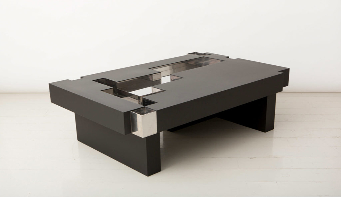 ammann gallery New Ammann Gallery's Collectible Designs at The Salon Art+Design NY Nucleo IronAgeCoffeeTable