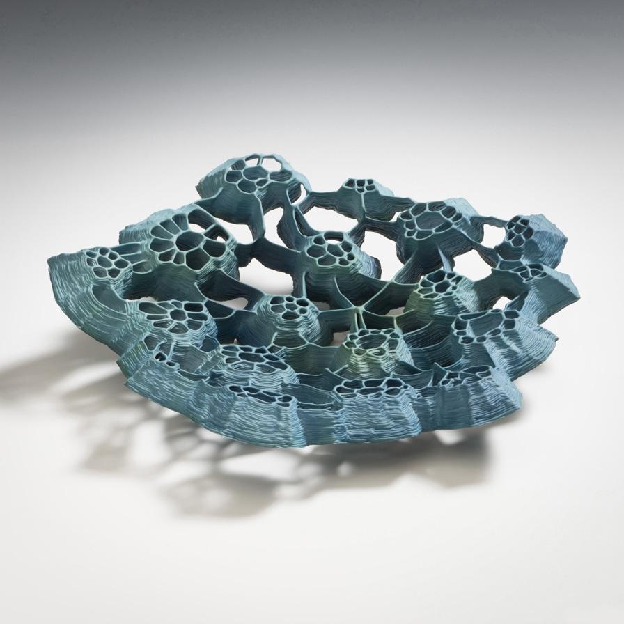 Best of international porcelain artwork at The salon Art+Design,NY j. lohmann gallery New J. Lohmann Gallery 's Collectible Designs at The Salon Art+Design SidselHanumDelinger2016