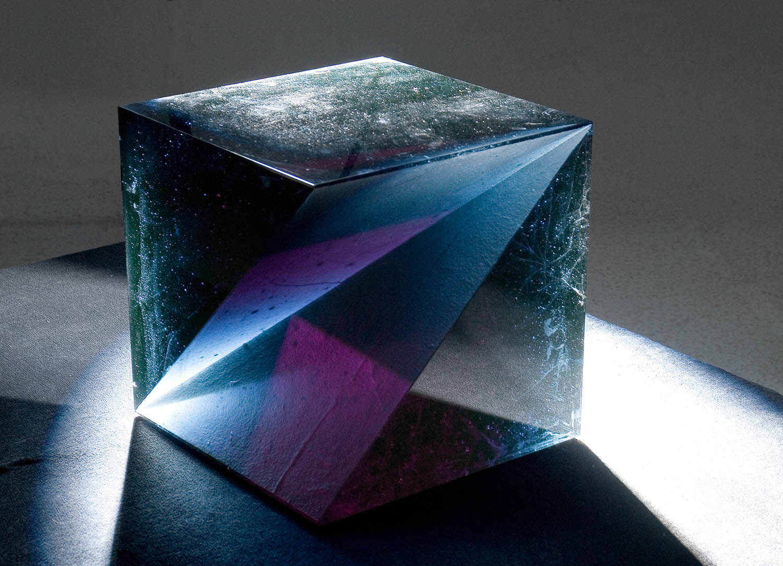 The Best of Glass Art - Štepán Pala - Cube glass sculpture The Best of Glass Sculpture Art: Štepán Pala The Best of Glass Art   tep  n Pala Cube