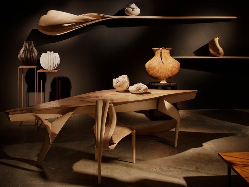 The Best of Wood Sculpture Art - Eleanor Lakelin - Sarah Myerscough Gallery at Design Miami Basel 2017 wood sculpture The Best of Wood Sculpture Art: Eleanor Lakelin The Best of Wood Sculpture Art Eleanor Lakelin Sarah Myerscough Gallery at Design Miami Basel 2017