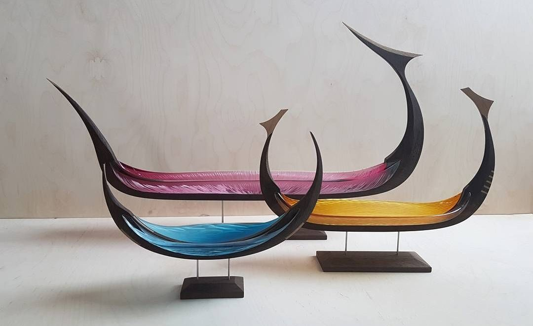 The Best of Glass Sculpture and Cabinet Making Art: Backhaus-Brown and Egevaerk