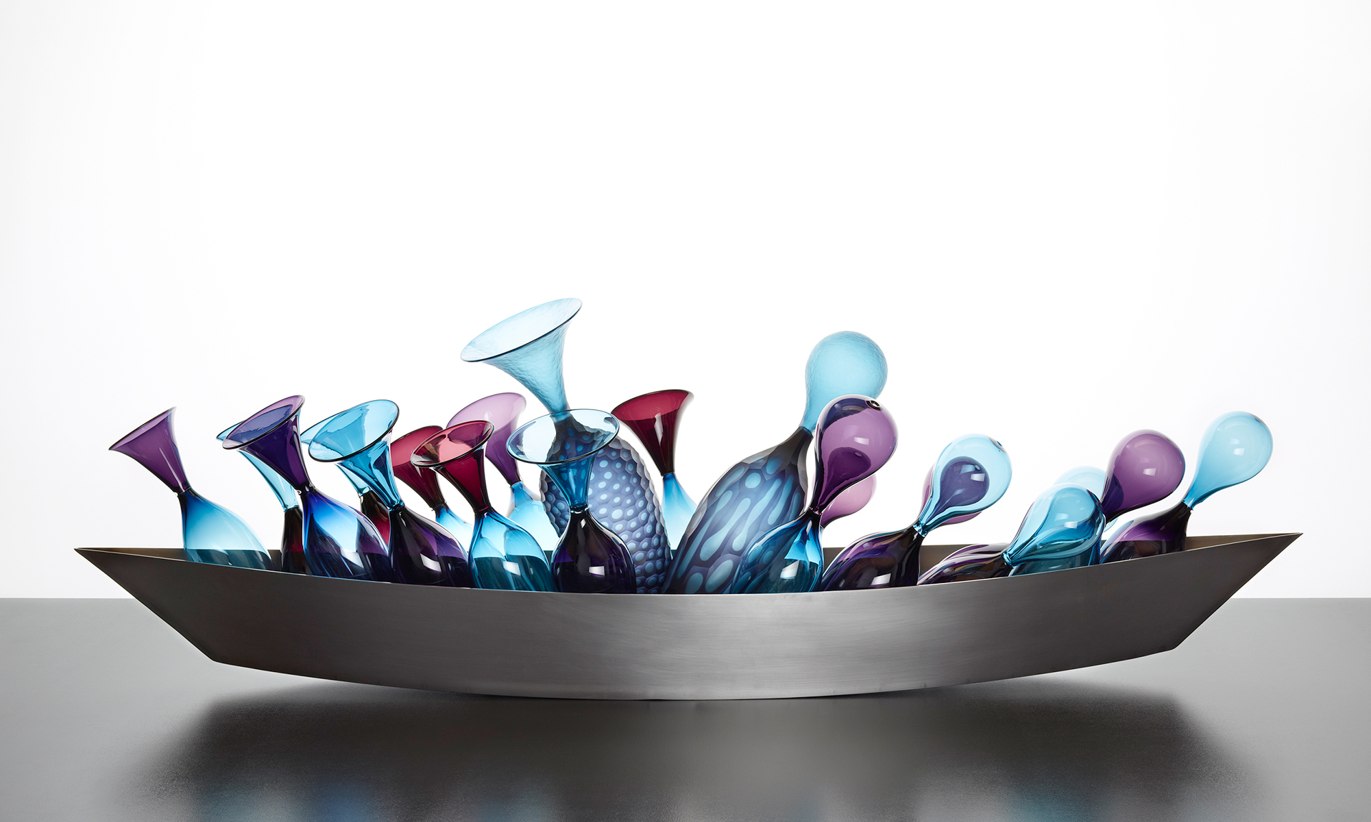 The Best of Glass Art: Monica Guggisberg and Philip Baldwin glass sculpture The Best of Glass Sculpture Art: Monica Guggisberg and Philip Baldwin mudac 503 BaldwinGuggisberg HeadedRoundTheCape 2010 2 web 1