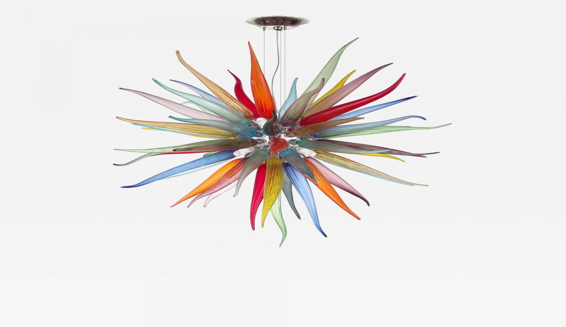 glass sculpture The Best of Glass Sculpture Art: Simone Cenedese rsz simone cenedese sole venetian chandelier