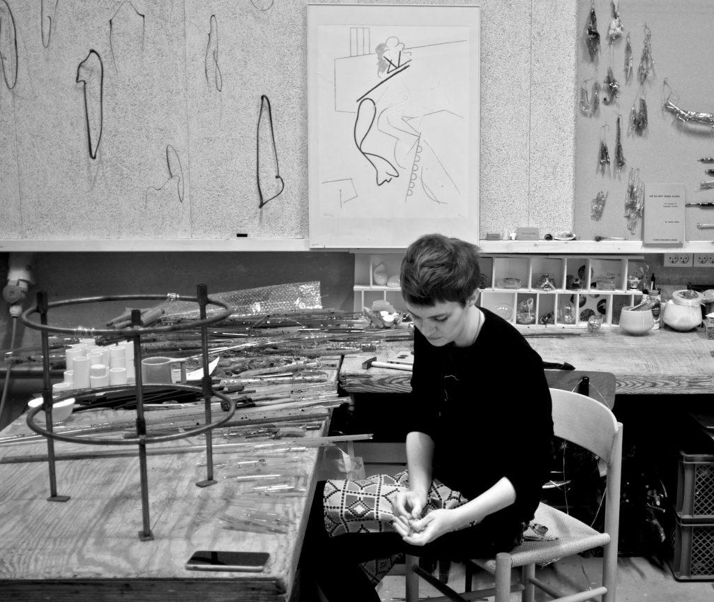 The Best Glass Sculpture Artisan: Ida Wieth glass sculpture art The Best of Glass Sculpture Art: Ida Wieth studio work