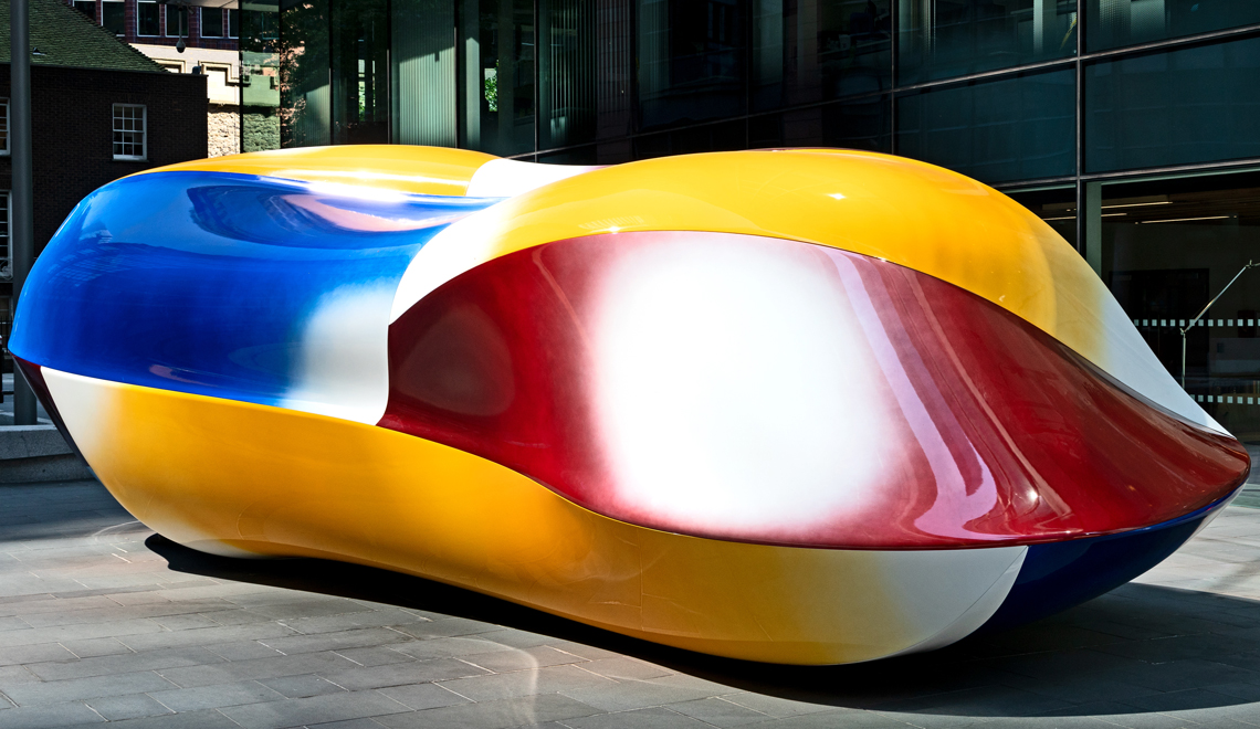 Colorful Contemporary Art by Jean-Luc Moulène - Body -