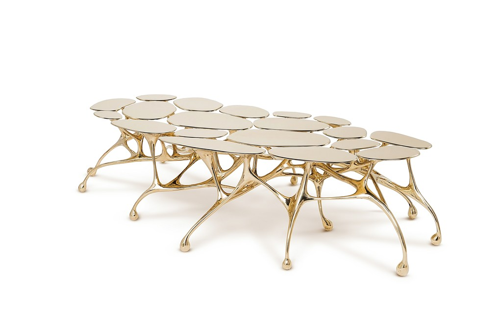 Creative and Contemporary Collectible Designs by Tan - Bronze Coffee Table Zhipeng Tan Creative and Contemporary Collectible Designs by Zhipeng Tan Creative and Contemporary Collectible Designs by Zhipeng Tan Bronze Coffee Table