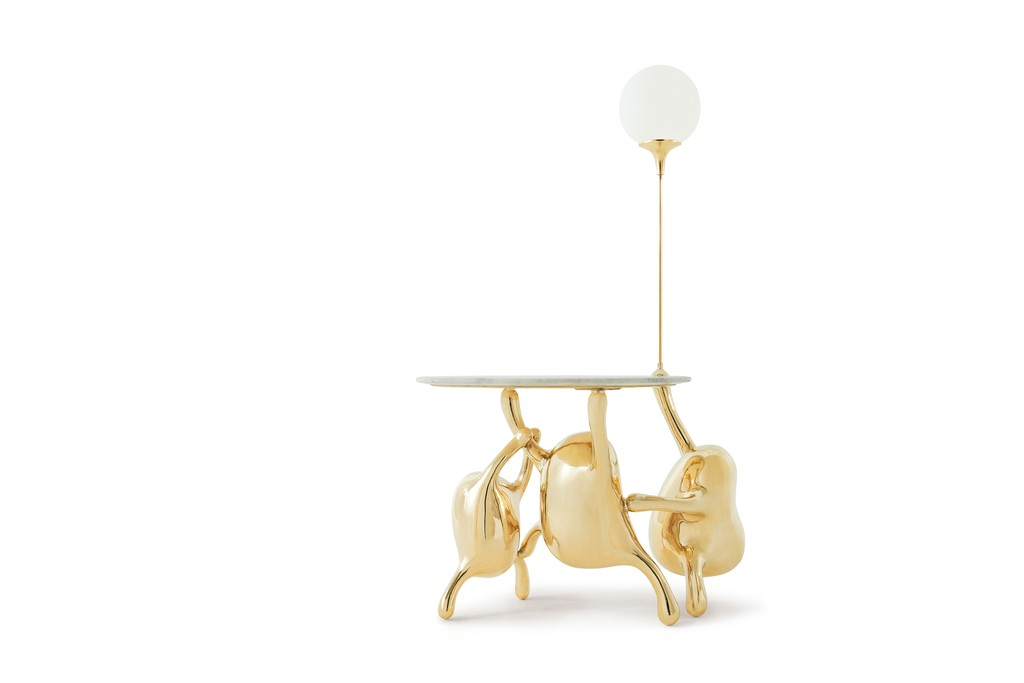 Creative and Contemporary Collectible Designs by Zhipeng Tan - TanTan Side Table with Lamp Zhipeng Tan Creative and Contemporary Collectible Designs by Zhipeng Tan Creative and Contemporary Collectible Designs by Zhipeng Tan TanTan Side Table with Lamp