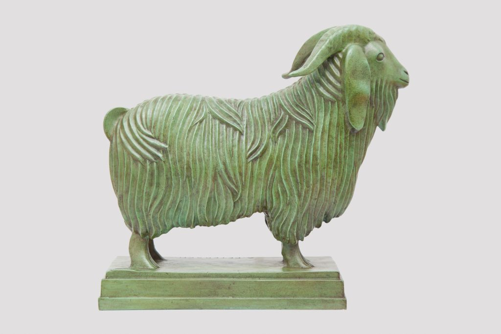 Amazing Sculptures at PAD Geneve 2019 Dumonteil - Armand Petersen - Syrian Goat pad geneve Amazing Sculptures at PAD Geneve 2019: Dumonteil Amazing Sculptures at PAD 2019 Dumonteil Armand Petersen Syrian Goat