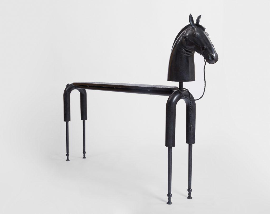 Amazing Sculptures at PAD 2019 Dumonteil - Jean-Marie Fiori - Horse Console pad geneve Amazing Sculptures at PAD Geneve 2019: Dumonteil Amazing Sculptures at PAD 2019 Dumonteil Jean Marie Fiori Horse Console