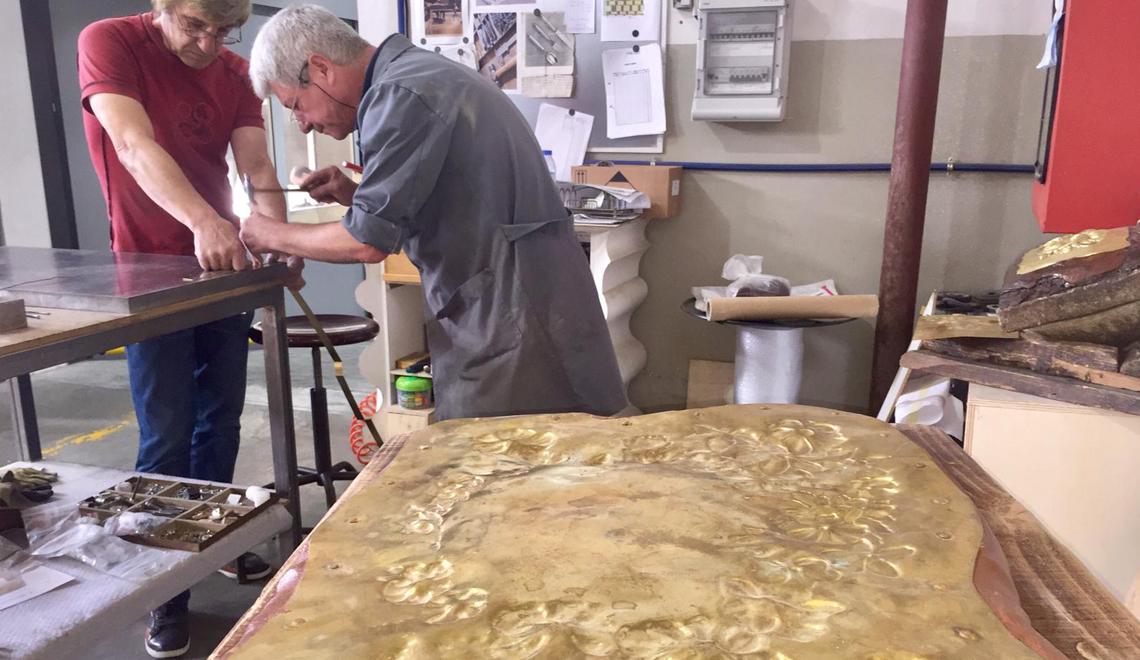 Exquisite Portuguese Metal Work Art in Maison et Objet 2019 - Master Artisans -