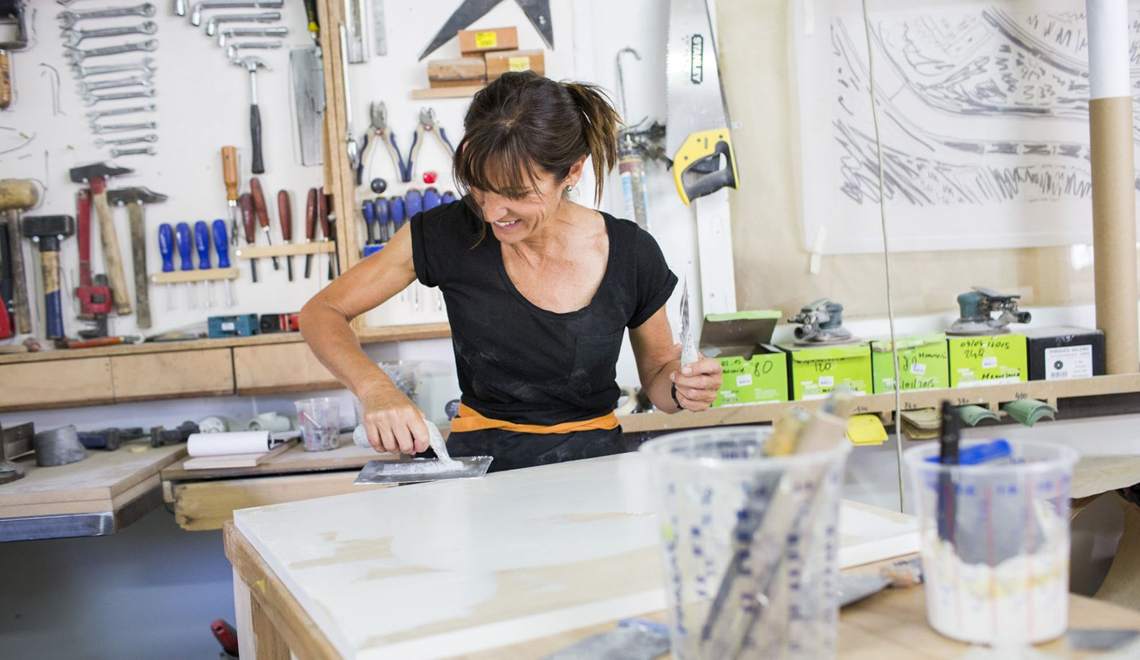 Frédérique Domergue Metal and Woodworking at MO 2019 -