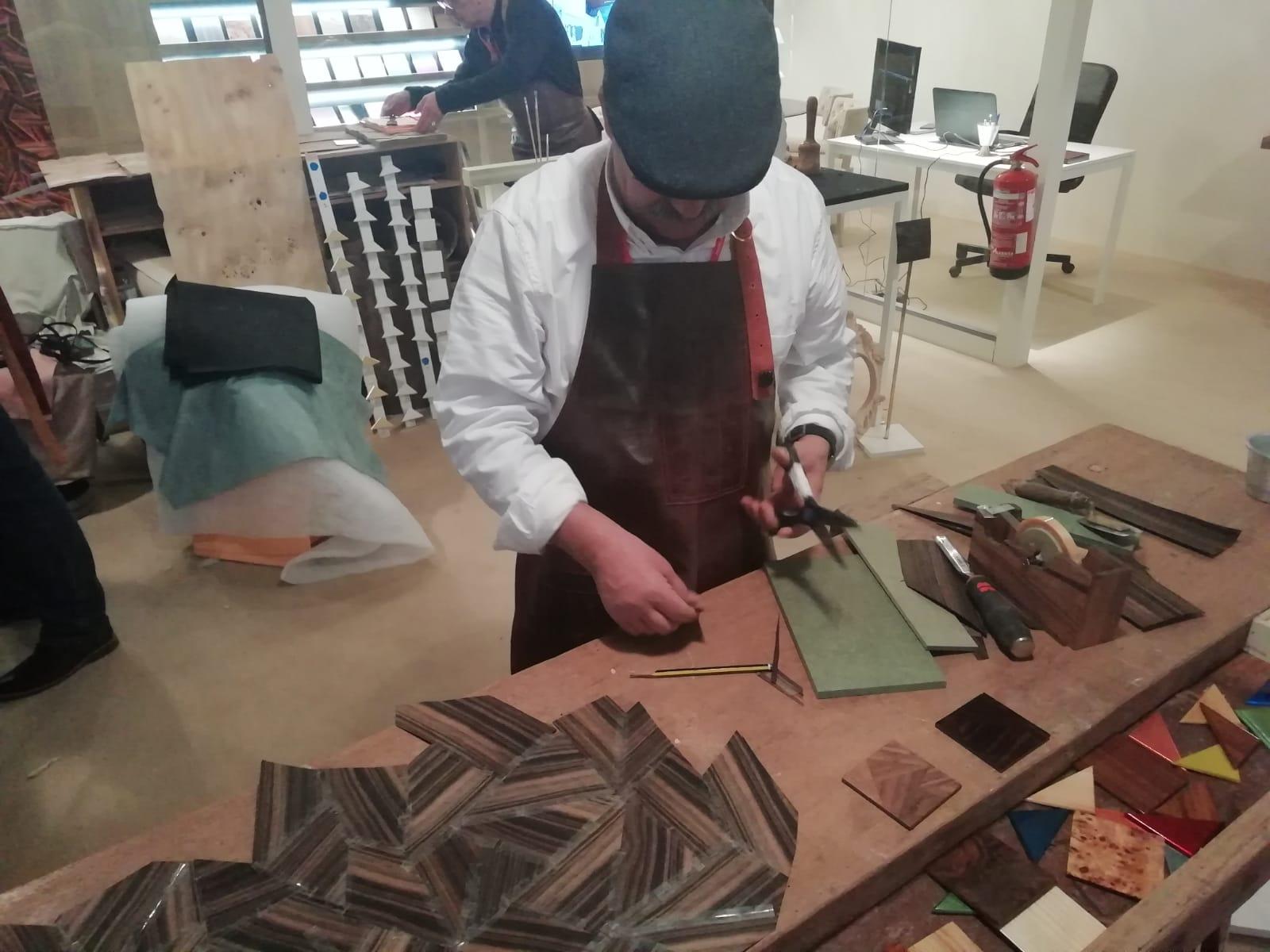 Master Artisans and Craftsmanship at Maison et Objet 2019 Maison et Objet 2019 Highlights of Maison et Objet 2019 Mr Cosme Master Artisan in wood working   Preggo Group