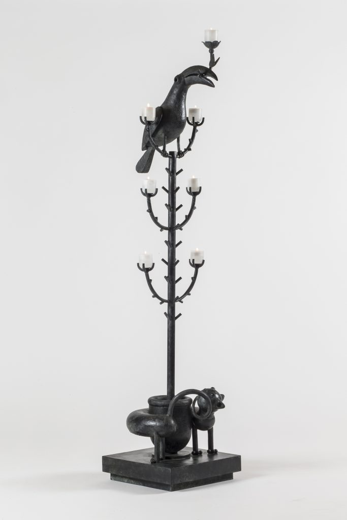 Remarkable Sculpture Art Showcased at PAD Geneve 2019 Jean-Marie Fiori - Tall Candelabra pad geneve Remarkable Sculpture Art Showcased at PAD Geneve 2019:Jean-Marie Fiori Remarkable Sculpture Art Showcased at PAD 2019 Jean Marie Fiori Tall Candelabra