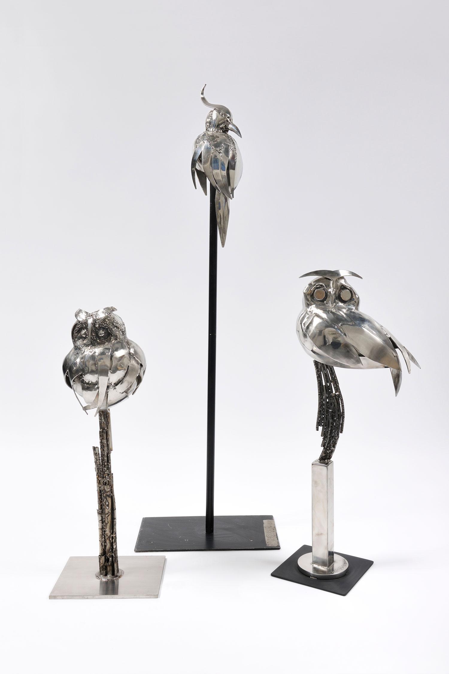 The Best of Modern Sculpture at PAD Geneve 2019 René Broissand - Ensemble d'oiseaux PAD Geneve The Best of Modern Sculpture at PAD Geneve 2019: René Broissand The Best of Modern Sculpture at PAD 2019 Ren   Broissand Ensemble d   oiseaux