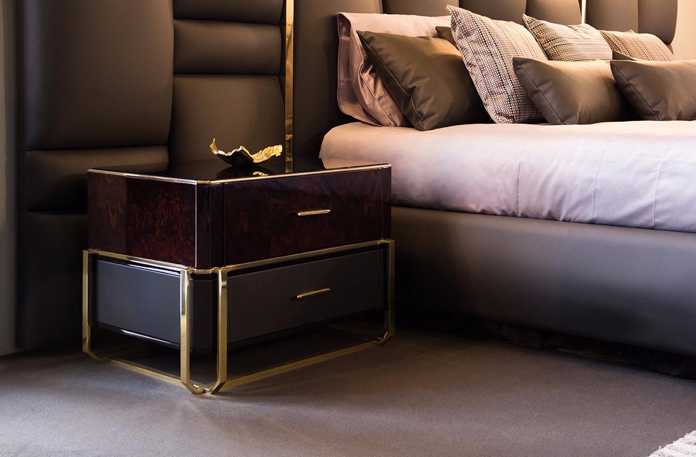 Luxury pieces launched at Maison et Objet 2019 Maison et Objet 2019 Highlights of Maison et Objet 2019 Waltz Nightstand   Luxxu Home