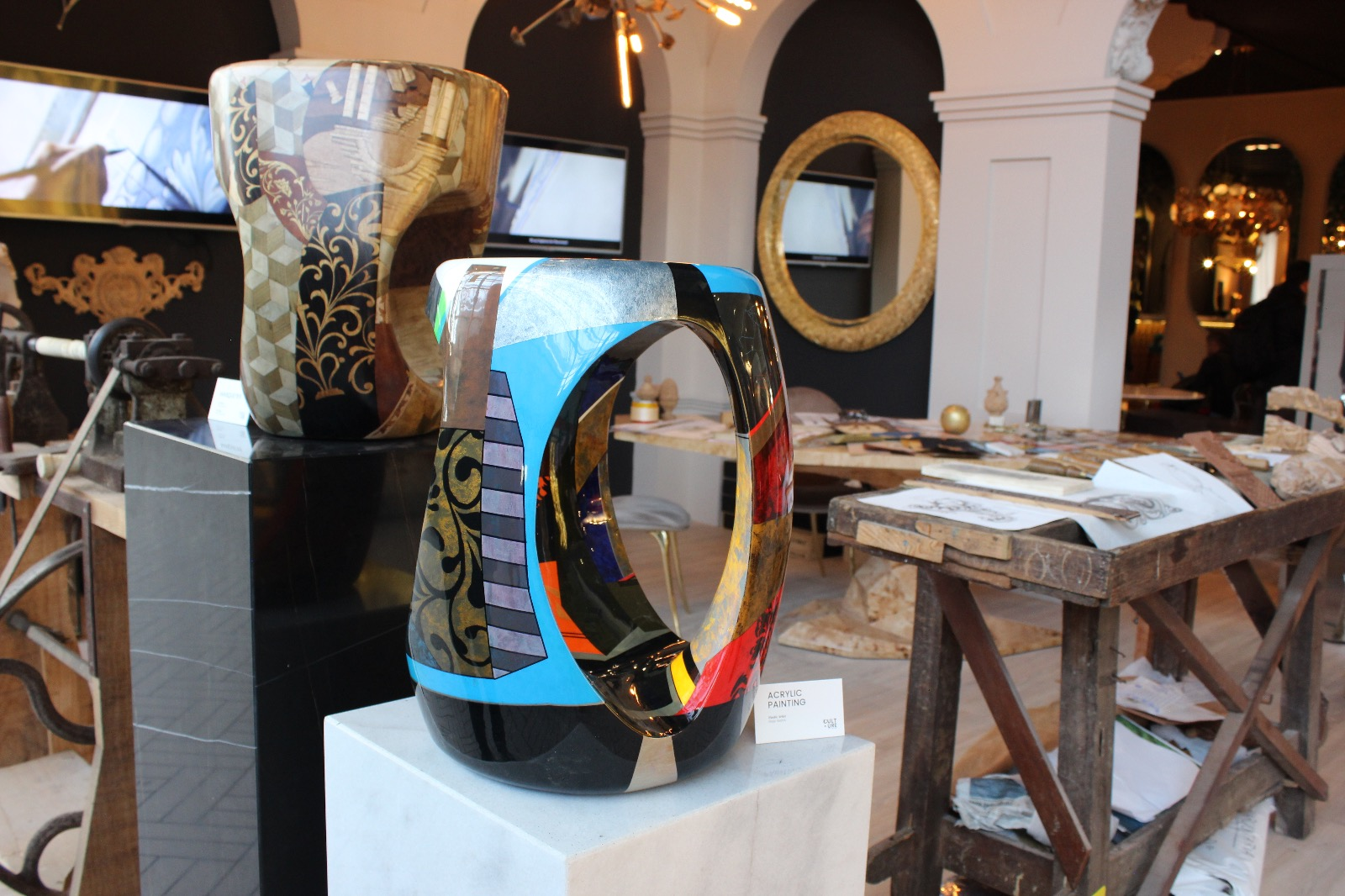 Wonderful Craftsmanship at Covet House in MO 2019 - Marquetry maison et objet Wonderful Craftsmanship at Covet Group in Maison et Objet 2019 Wonderful Craftsmanship at Covet House Marquetry