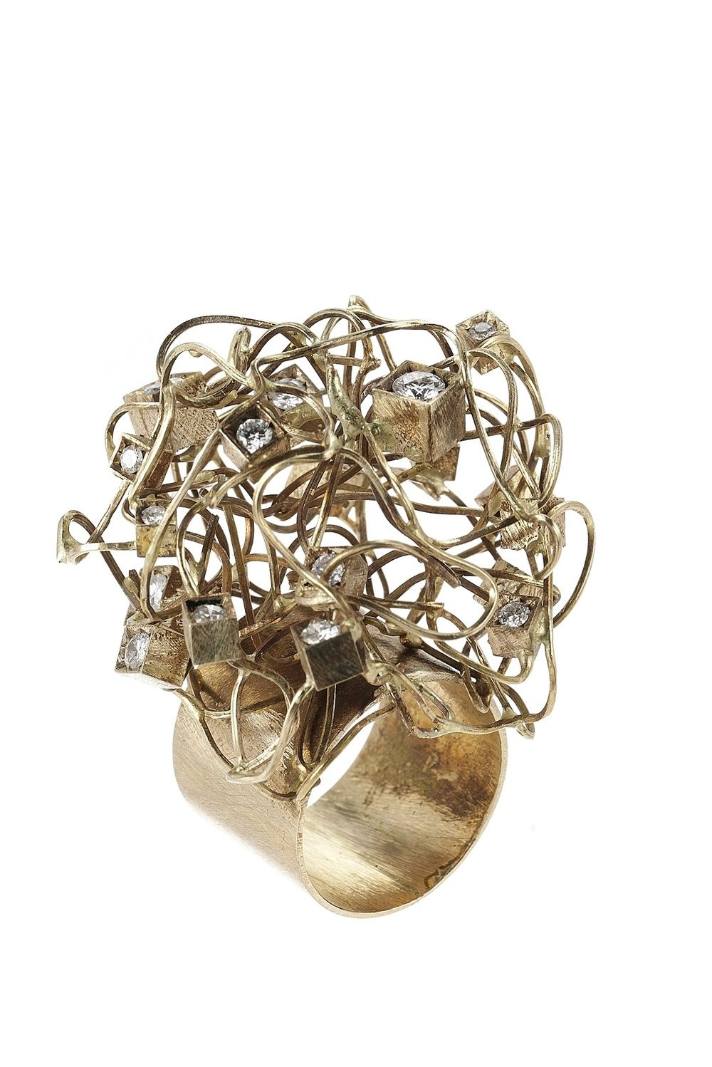Giampaolo Babetto:one of the best artis jewels goldsmiths Giampaolo Babetto: one of the Best Goldsmiths 18ct white gold 11 diamonds 1