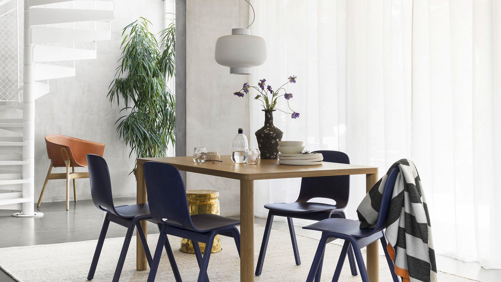 Best Showrooms to Admire at Stockholm Design Week Hem Furniture - Dining Table Hem Furniture Best Showrooms to Admire at Stockholm Design Week 2019: Hem Furniture Best Showrooms to Admire at Stockholm Design Week Hem Dining Table