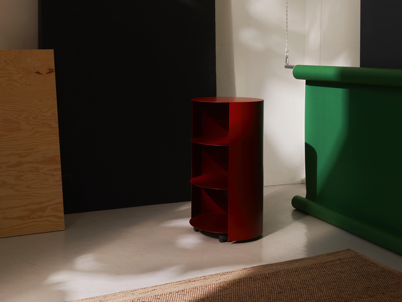 Best Showrooms to Admire at Stockholm Design Week Hem Furniture - Hide Pedestal Rust Red Hem Furniture Best Showrooms to Admire at Stockholm Design Week 2019: Hem Furniture Best Showrooms to Admire at Stockholm Design Week Hem Hide Pedestal Rust Red