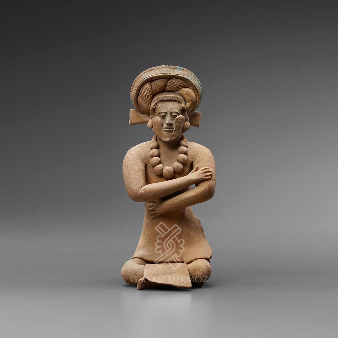 Fascinating Pre-Columbian Art at PAD 2019 Galerie Mermoz - Seated Dignitary pad geneve Fascinating Pre-Columbian Art at PAD Geneve 2019: Galerie Mermoz Fascinating Pre Columbian Art at PAD 2019 Galerie Mermoz Seated Dignitary