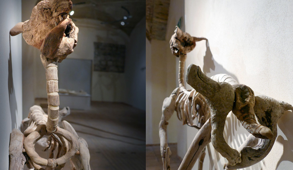 Fascinating Wood Art Skeletons by Giovanni Longo -