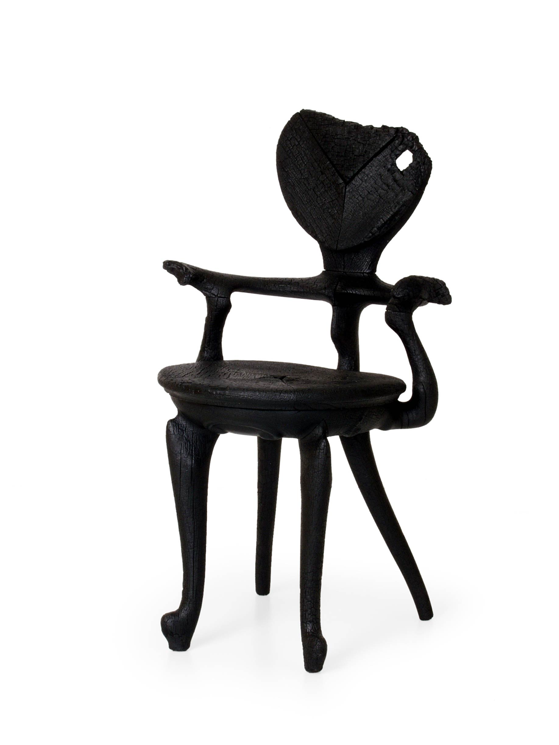 Incredible and Rebellious Contemporary Design by Maarten Baas - Where There's Smoke - Chair - maarten baas Incredible and Rebellious Contemporary Designs by Maarten Baas Incredible and Rebellious Contemporary Design by Baas Where Theres Smoke Chair