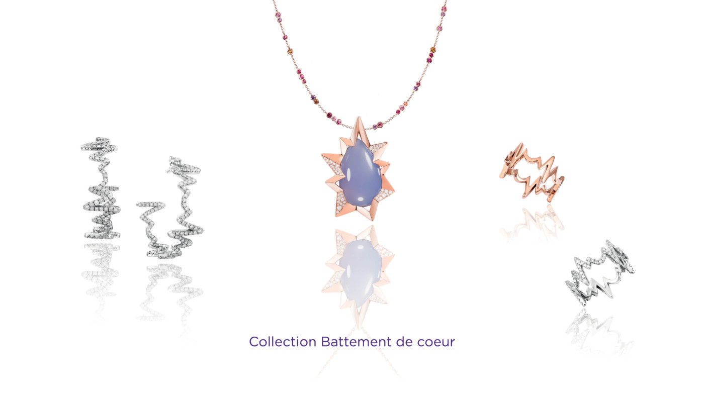 Sophisticated Jewelry at PAD 2019 Lorenz Baumer - Battement de coeur PAD Geneve Sophisticated Jewelry at PAD Geneve 2019: Lorenz Baumer Sophisticated Jewelry at PAD 2019 Lorenz Baumer Battement de coeur