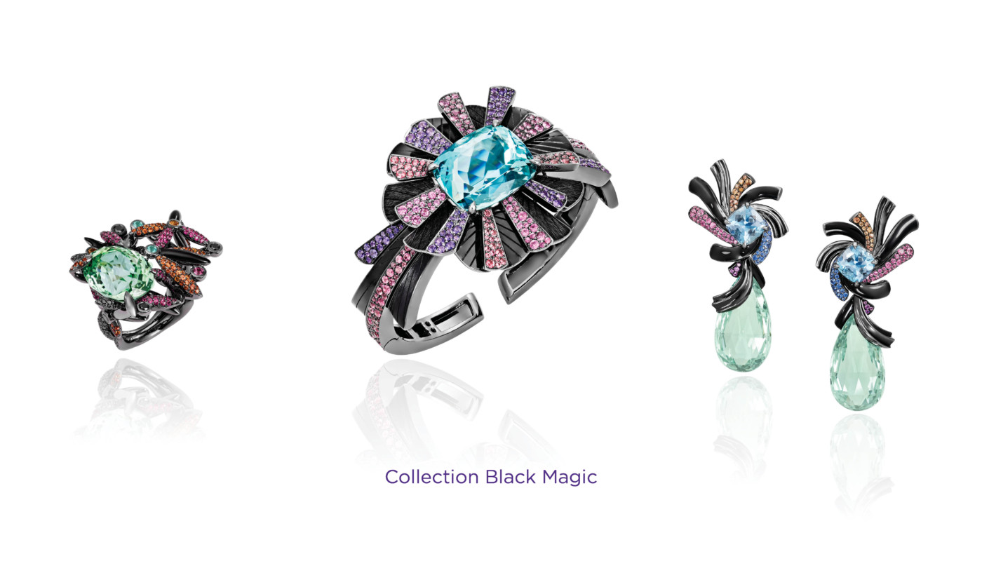 Sophisticated Jewelry at PAD Geneve 2019 Lorenz Baumer - Black Magic PAD Geneve Sophisticated Jewelry at PAD Geneve 2019: Lorenz Baumer Sophisticated Jewelry at PAD 2019 Lorenz Baumer Black Magic