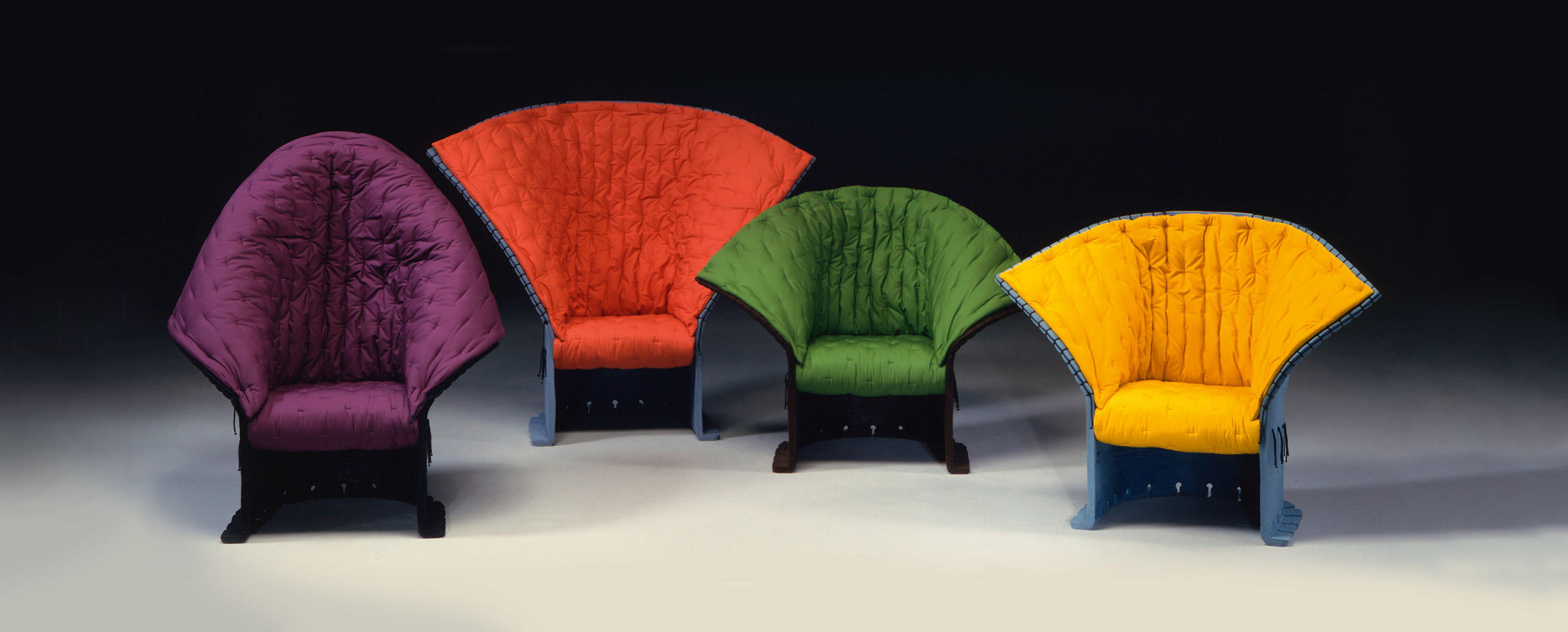 The Wonders of The Italian Arts and Crafts: Behind The Scenes craftsmanship Behind the Scenes: Get Inspired by the Italian Craftsmanship The Most Exquisite Italian Craftsmanship Feltri Armchairs Gaetano Pesce