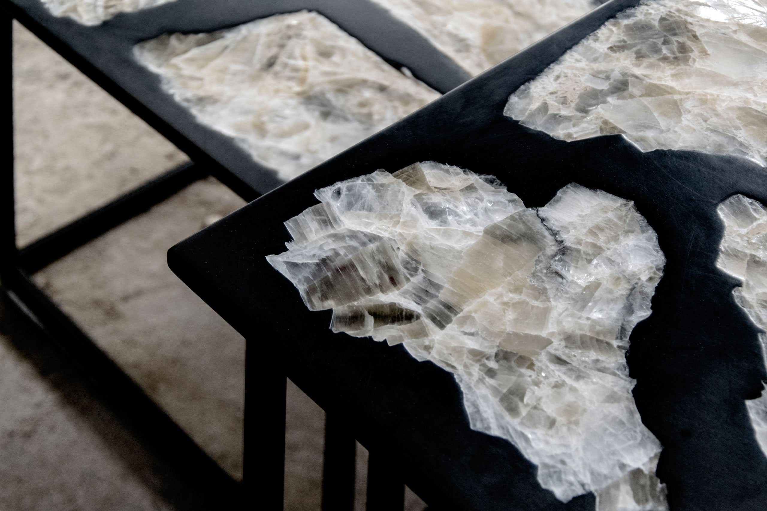 Wonderful Predictions for Salone del Mobile Milano isaloni 2019 - Side tables Dark Ages - Detail isaloni 2019 Wonderful Predictions for Salone del Mobile Milano – iSaloni 2019 Wonderful Predictions for Salone del Mobile Milano 2019 Side tables Dark Ages Detail