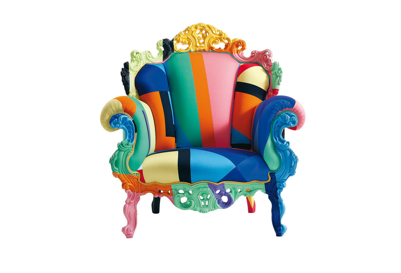 Alessandro Mendini Tribute to a Legend of Contemporary Design - Proust Armchair - Colorful alessandro mendini Alessandro Mendini: Tribute to a Legend of Contemporary Design Alessandro Mendini Tribute to a Legend of Contemporary Design Proust Armchair Colorful