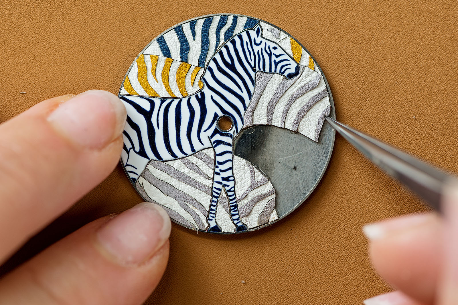 Baselworld 2019 Miniature Marquetry Art in Haute Horlogerie - Hermes - Leather baselworld 2019 Baselworld 2019: Miniature Marquetry Art in Haute Horlogerie Baselworld 2019 Miniature Marquetry Art in Haute Horlogerie Hermes Leather